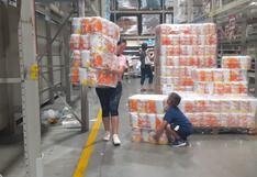 Coronavirus: peruanos arrasan con productos en supermercados de Lima│FOTOS Y VIDEO