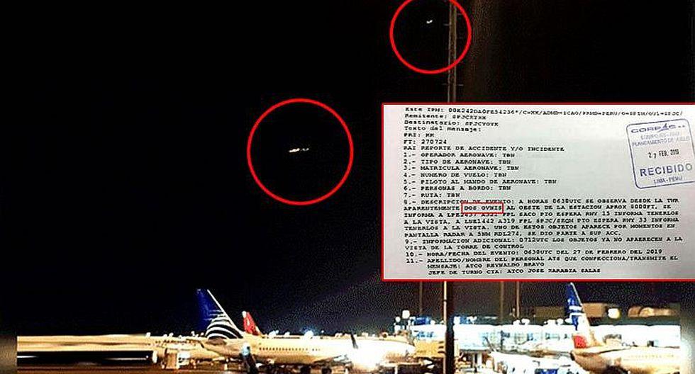 Fuerza Aérea aclara supuesto avistamiento de OVNIS en Lima registrados el 27 de febrero