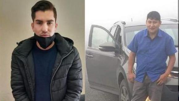 El asesino confeso Giancarlo Sánchez, quien conoció al taxista Gerver Coz hace un año, planificó al milímetro su crimen. (Foto: Composición El Comercio)