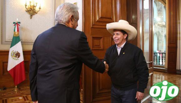 Presidente Pedro Castillo empieza en México su primera gira internacional. (Foto: @presidenciaperu)