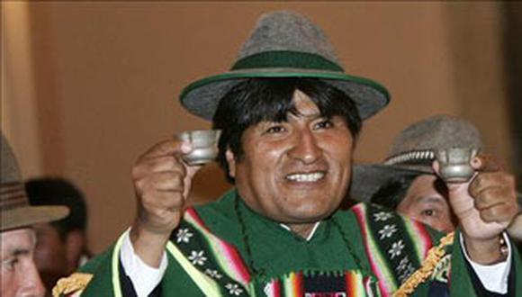 Evo Morales invita a Humala a celebrar el Año Nuevo aimara