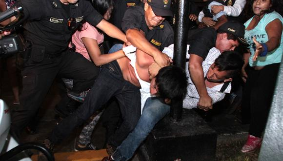 Breña: Sujeto viola a niña de 5 años y familiares lo golpean [FOTOS]