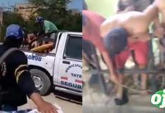 Cuatro personas mueren asfixiadas en cámara de rebombeo de desagüe en Ica │VIDEO