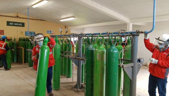 Coronavirus en Perú: regiones de Apurímac y Cusco recibieron balones de oxígeno para los hospitales (Foto: Sigdo Koppers)