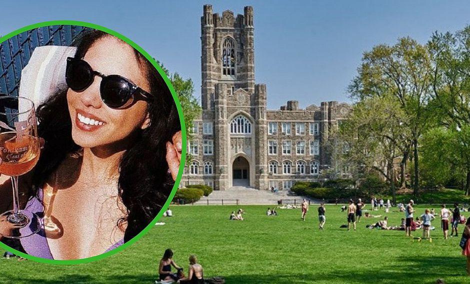 Joven intenta sacarse una foto en torre de su universidad y muere al caer