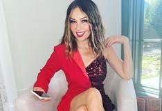 Thalía sorprende a sus seguidores con el mismo look que lució hace casi 30 años