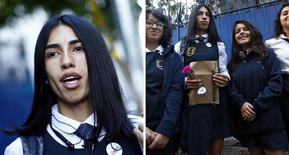 Colegio exclusivo para mujeres acepta a su primera alumna trans  (FOTOS)