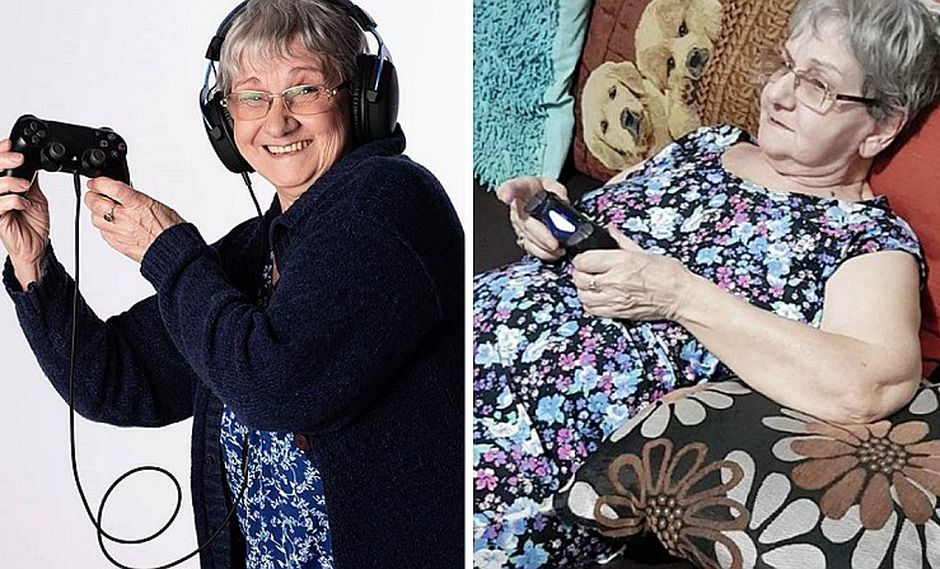 Abuelita de 84 años se hace viral en redes por su habilidades para los videojuegos