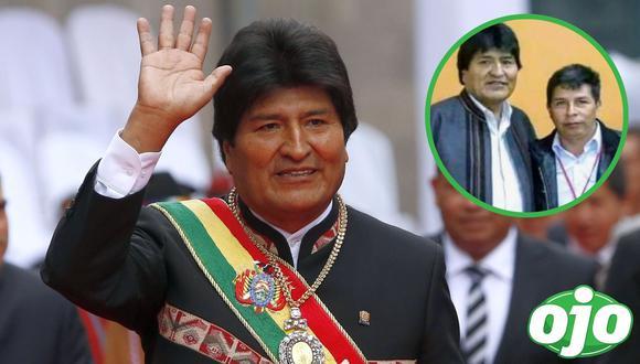 Evo Morales felicita a Pedro Castillo por su 'triunfo' en las Elecciones 2021. Foto: (Twitter).