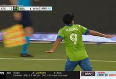 Cerca a la media cancha: Raúl Ruidíaz liquidó triunfo de Seattle Sounders con golazo   VIDEO