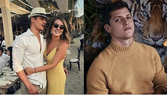 Gino Pesaressi comparte mensaje de desamor tras confirmar que relación con Mariana Vértiz llegó a su fin