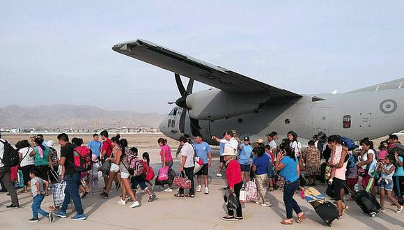 ¡Atención! Suspenden vuelos humanitarios de Lima hacia zonas afectadas por huaicos