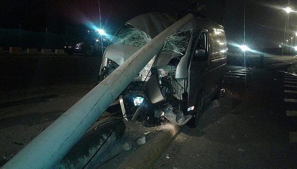 San Miguel: Se registró accidente de tránsito en la avenida Costanera (VIDEO)