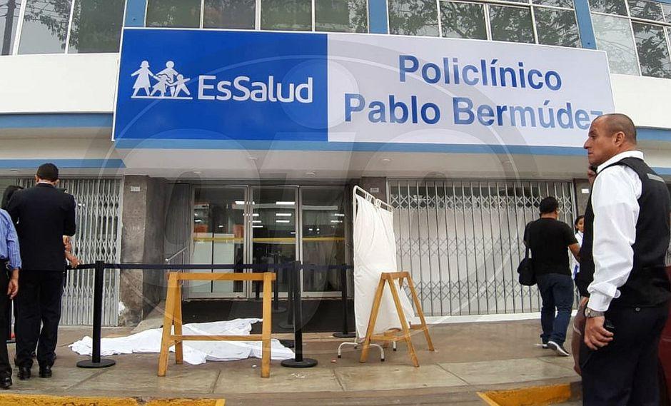Mujer de 48 años muere al caer del noveno piso de policlínico en Jesús María (FOTOS)