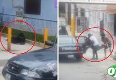 Impactante balacera entre dos hombres es captado por cámaras en SJL | VIDEO
