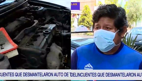 Honrado conductor fue víctima de la delincuencia. (Captura Latina)