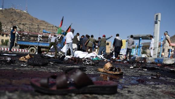 Afganistán: Atentado contra marcha deja 20 muertos en Kabul