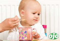 ¿Qué pueden comer los bebés en la cena navideña?