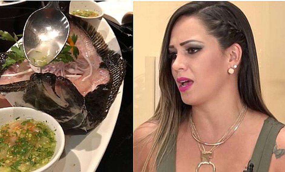 Melissa Klug responde a los cibernautas tras grabar a animal 'vivo' en su plato