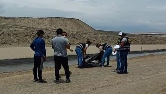 La Libertad: mujer y niña de 5 años son asesinadas y las ubican en canal de Chavimochic (Foto: Difusión)