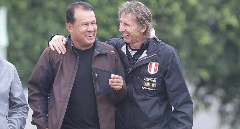 Juan Reynoso apoyó la decisión tomada por Ricardo Gareca sobre Paolo Guerrero. (GEC)