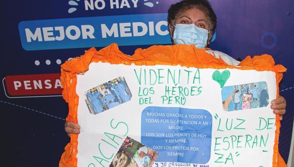 Piura: Mujer con deterioro en riñón y fibrosis pulmonar logra vencer al COVID-19 (Foto: EsSalud)