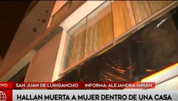 La joven de 22 años se encontraba acompañada de otras personas al momento del crimen. (Foto: Captura América TV)