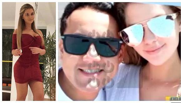 Brunella Horna se lució con lujosa sorpresa de cumpleaños a Richard Acuña