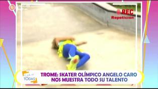 Estás en todas: revive la dolorosa caída de Sheyla Rojas al resbalar de un skate