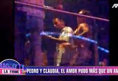 Pedro Gallese y su esposa Claudia Díaz se lucen en salsoteca y se divierten hasta las seis de la mañana | VIDEO
