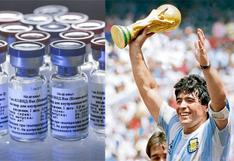 """""""Maradonosky"""", así quieren rebautizar a la vacuna rusa contra el COVID-19 que fue producida en Argentina"""