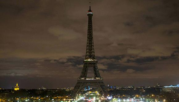 La Hora del Planeta: La torre Eiffel se une a la iniciativa y apaga sus luces