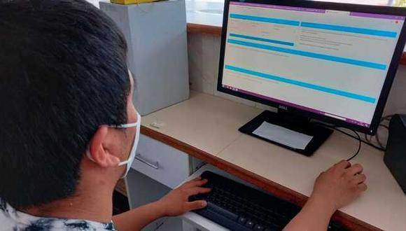 Pacientes del Instituto Nacional de Salud Mental pueden acceder a sus recetas digitales a través de plataforma web. (Foto: Minsa)