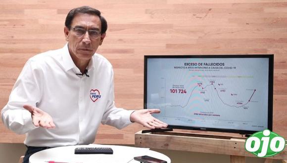 Martín Vizcarra dijo que su vacancia fue un factor para generar la segunda ola de coronavirus.