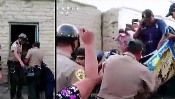 Sujetos roban, violan y asesinan a mujer sordomuda en Huarua (VÍDEO)