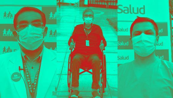 En esta fecha especial los médicos y padres del hospital Alberto Sabogal Sologuren nos cuentan en primera persona sus experiencias luchando contra el COVID-19. (Foto: hospital Alberto Sabogal Sologuren)