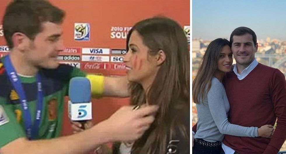Sara Carbonero, esposa de Iker Casillas revela que padece de cáncer