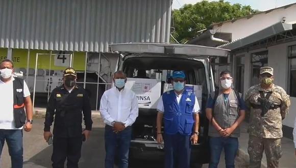 Tumbes: segundo lote con 1646 vacunas contra el COVID-19 llegaron a la región (Foto: captura Facebook Gore Tumbes)