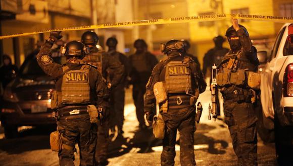 Tras el robo del celular a un policía, un delincuente fue abatido en San Martín de Porres. (Foto: César Grados/@photo.gec)