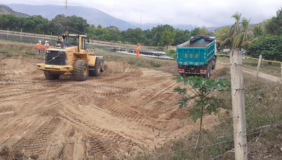Jaén: OTASS invierte S/ 2 millones para limpieza y mejoramiento de dos lagunas de oxidación