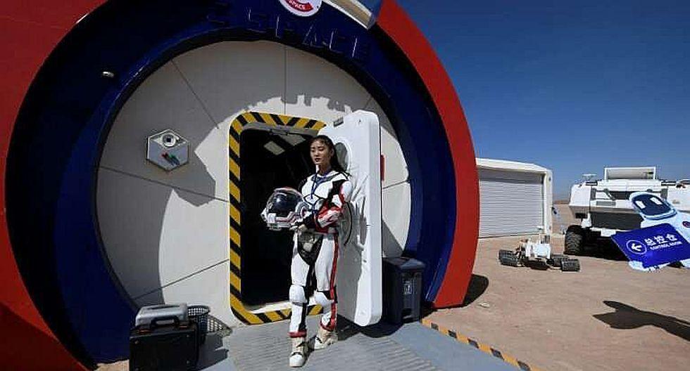 """China abre una base simulada para buscar a su primer """"marciano"""""""