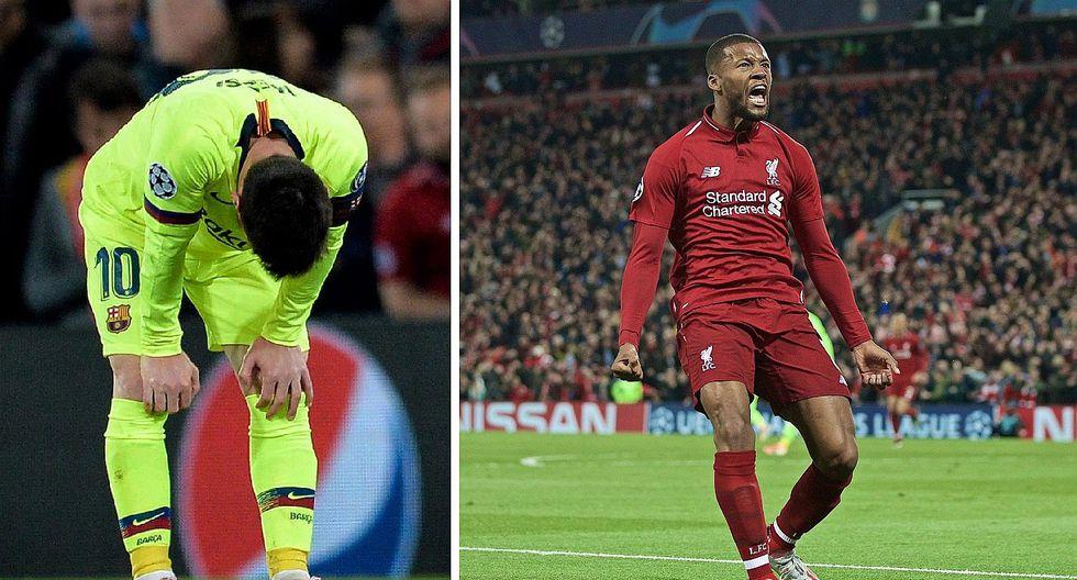 Barcelona eliminado de la Champions League: Revive los 4 goles del Liverpool (VIDEO)