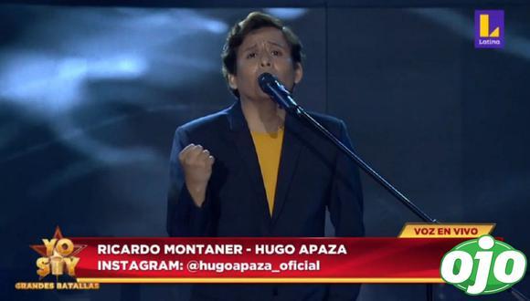 """Hugo Apaza, imitador de Ricardo Montaner, regresó a """"Yo Soy"""". (Foto: Captura Latina)"""