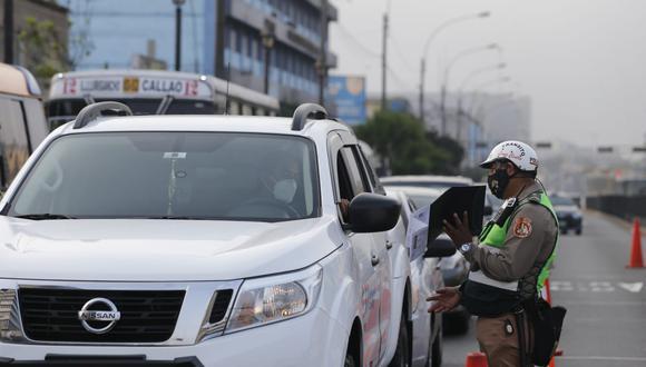Gobierno dicta inmovilización vehicular los domingos en Lima Metropolitana hasta el 31 de enero. Fotos: Violeta Ayasta / @photo.gec