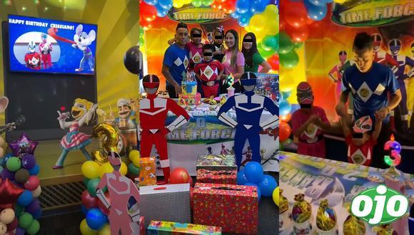 La pareja celebró los 3 años de su hijo con espectacular fiesta infantil. Foto: Instagram Christian Cueva | Instagram Pamela López