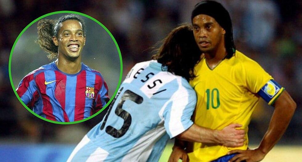Ronaldinho está en la quiebra y revelan que solo tiene 6 dólares en su cuenta bancaria