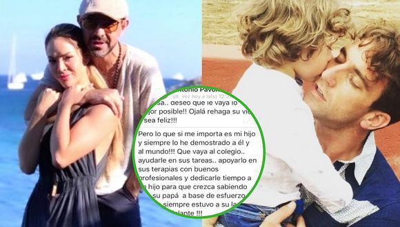 """Antonio Pavón preocupado por bienestar de su hijo: """"(Estoy) cansado de que se críe con una niñera"""""""