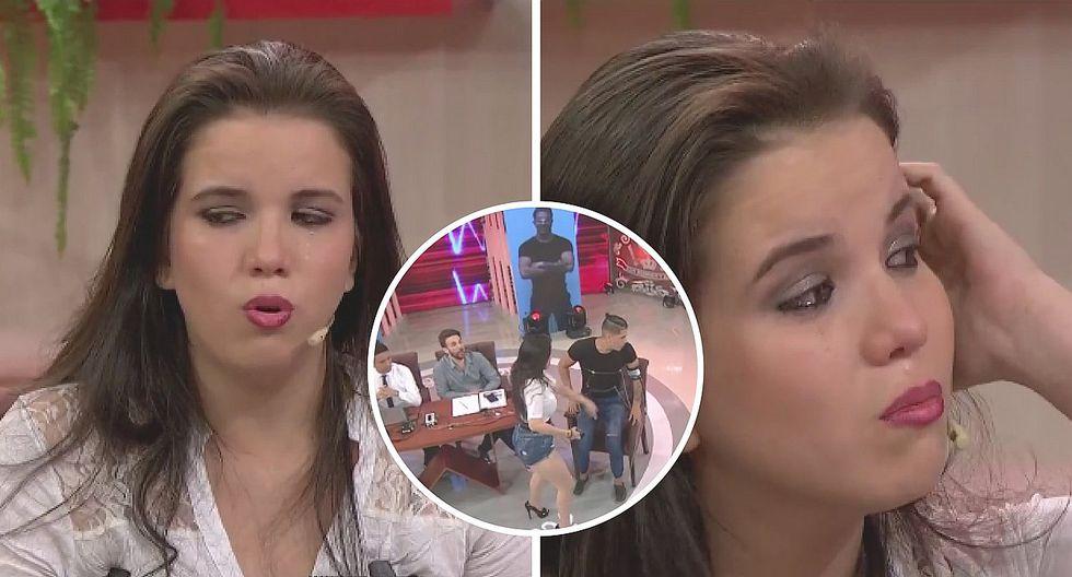 Greysi Ortega y la fuerte bofetada a su pareja tras enterarse de infidelidad (VIDEO)