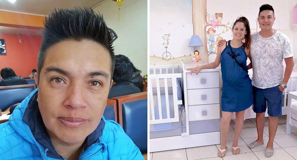Leonard León y el tierno gesto con Olenka Cuba antes que de a luz a su tercera hija (FOTOS)
