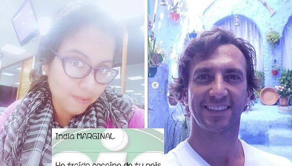 Antonio Pavón insultó y discriminó a periodista de Ojo (FOTOS)